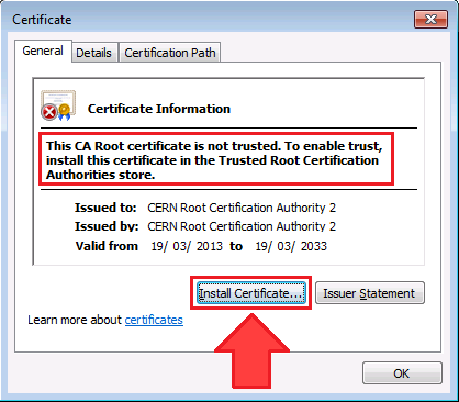 CERN Certification Authorities Files and Documents